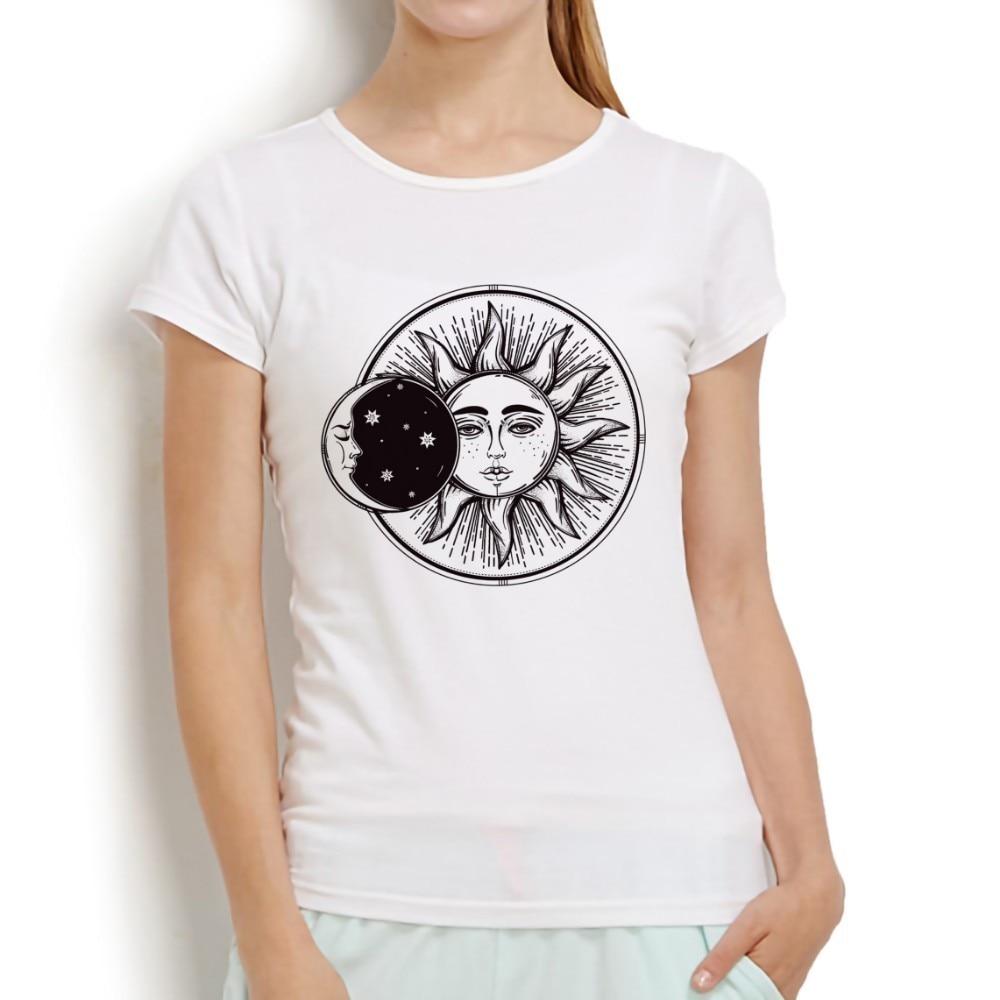Frauen Kleidung & Zubehör Sonne Hemd Hallo Sonnenschein Hemd Frauen Gelb T-shirt Baumwolle Graphic Tees Plus Größe T-shirt Sommer Shirts Frauen Natur Hemd Tops