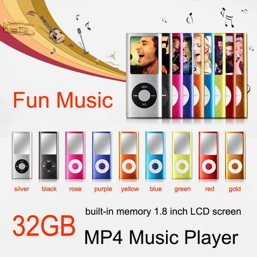 SMILYOU Nová 8GB paměť Slim hudební přehrávač 1,8 palcový LCD displej FM rádio hlasový záznamník funkce s kabelem nabíjení sluchátek