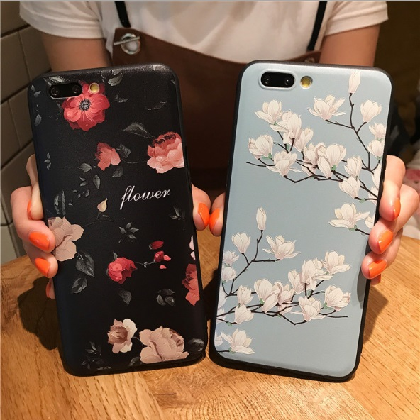 Ultra thin S8 plus TPU Phone Case For iPhone X 8 6 6s 7 Plus iphonex flower 3D pattern mobile back cover for huawei P10 plus