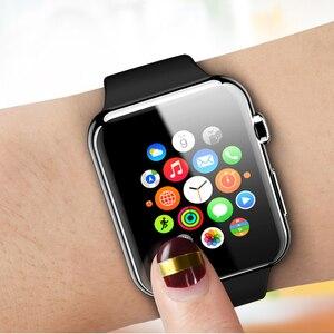 Image 5 - Suntaiho TPU 풀 커버리지 보호 필름 Apple Watch 4 40/44 용 스크린 보호대 i Watch Series 1/2/3 38/42mm (유리가 아님)