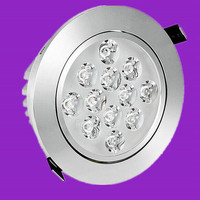 LED Downlight Dimmable 7W 10W 12W 15W 20W 30W LED COB Panel Light AC85 265V Recessed