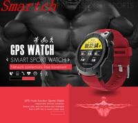 Smartch Newest S958 Bluetooth Smart Watch IP66 Waterproof Support GPS Heart Rate Monitor Altimeter Pressure Temperature