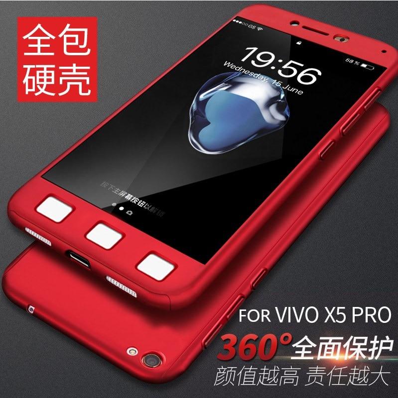 Fashion Housing For BBK VIVO X5 Pro X5pro Phone Case 360 Full Protection Matte Hard Plastic Slim Back Case For Vivo X5 Max X5max