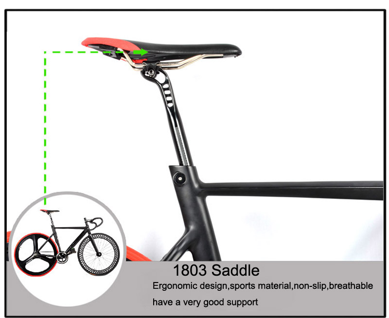 Fixed Gear Bike Fixie 52 cm DIY 700C Muskel Rahmen maßgeschneiderte ...
