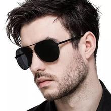 MIZHO Hot Elastic Support Leg Classic Aviation Metal Sunglasses Men Polarized UV400 Protector Drivers Car Sunglasses For Women