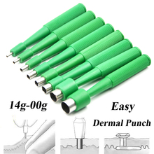 10pcs Disposable Professional Biopsy Dermal Puncher For Skin Piercing Body Jewelry Tool Easy Use Sterilized Dermal Anchor Punch