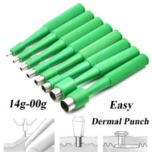 10pcs Disposable Professional Biopsy Dermal Puncher สำหรับ Skin Piercing Body (China)