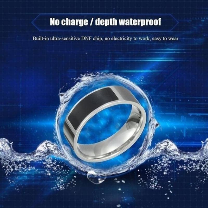 NFC Multifunctional Waterproof Intelligent Smart Ring 11