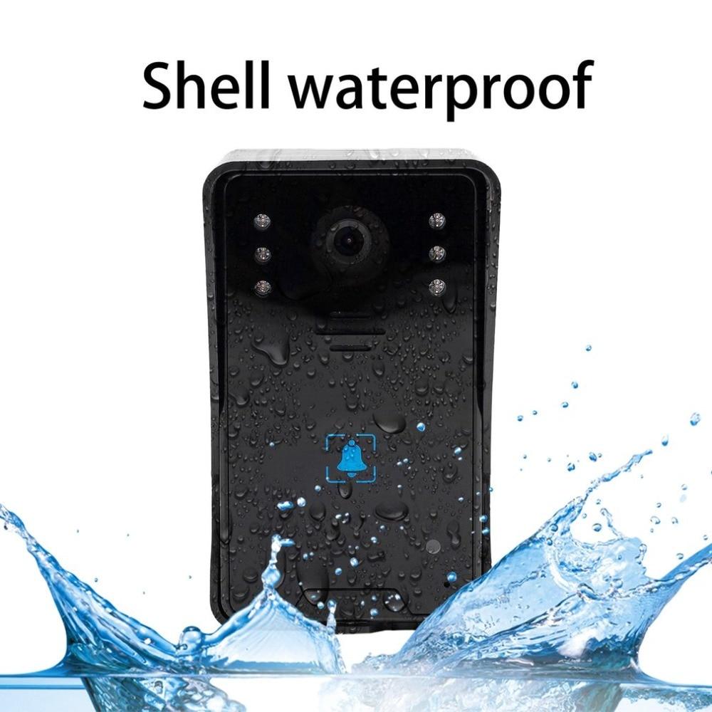 5V 7-Inch TFT Screen Wireless Visual Doorbell Infrared Night Vision Doorbell Video Intercom Door Phone Home Security