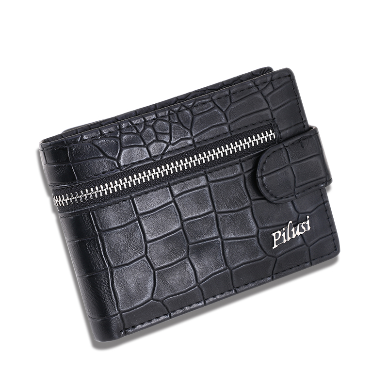 Men Wallets Top Pu Leather Vintage Design Purse Men zipper wallets Card holder Mens Wallet carteira masculina Wholesale price men long purse boys teenagers black pu wallet doge shiba inu wallets birthday gifts carteira