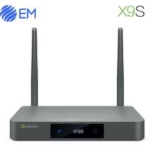 ZIDOO X9S Android 6.0 TV Box Realtek RTD1295 Quad Core 2G/16G HDMI OUT/IN KODI Smart TV Russian Hebrew IPTV Europe Media Player