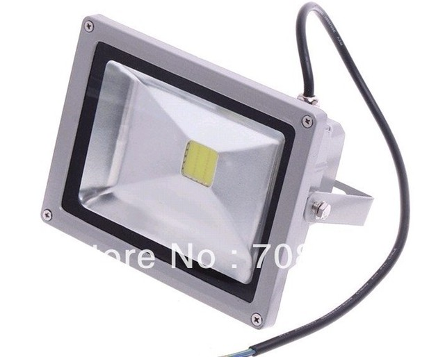 Free Shipping led flood light housing with  20w 2000lm AC90-260V  Warranty  2 year Floodlight Outdoor Lamp