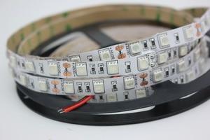 Image 2 - UV led strip 395 405nm Ultraviolet 2835/3528 5050 SMD 60led/m Flexible Ribbon String tape lamp 12V for DJ Fluorescence party