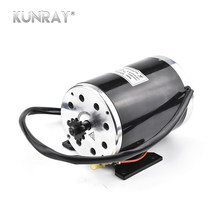 36V 48V 1000W High Speed DC Brushed Motor Electric Scooter Motor Mid Wheel Motors Electric Bicycle Ebike Engine Gear Motor Brush(China)