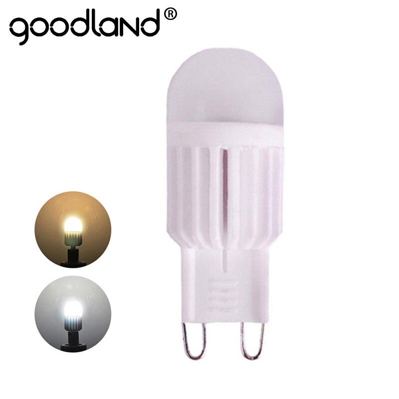 G9 LED מנורת 220 V 5 W 7 W מיני LED G9 הנורה LED אור קרמיקה גבוהה כוח קריסטל נברשת lampada ניתן לעמעום 360 תואר תאורה