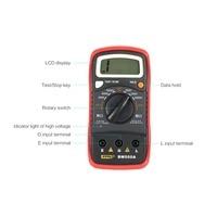BM500A デジタルメガー 1000 V オートレンジ絶縁抵抗抵抗計テスター試験器マルチメータ電圧計 LED 表示 -