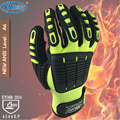 NMSafety Anti Vibration Oil Safety Glove Shock Absorbing Mechanics Impact Resistant Work Glove