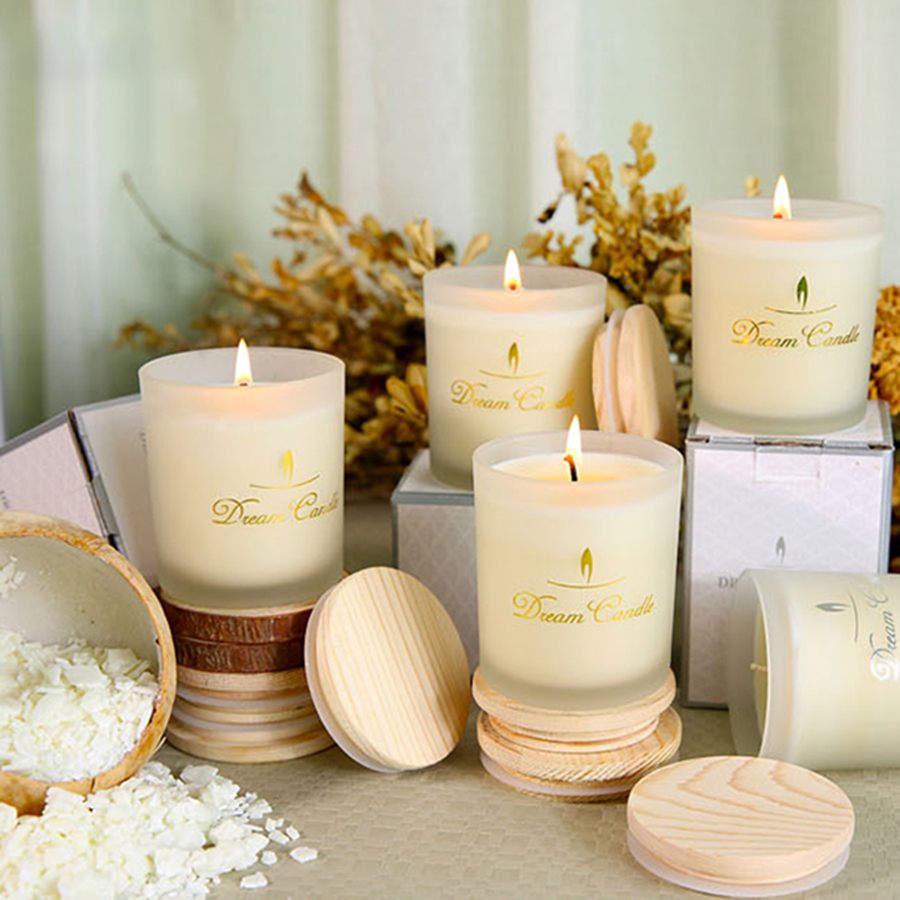 US $21 99 51% OFF|White Soy Candle Photophores Natural Lavender Decorative  Candles Unicorn Candle Romantic Birthday Candles Fete Oil Lamp C5O331-in