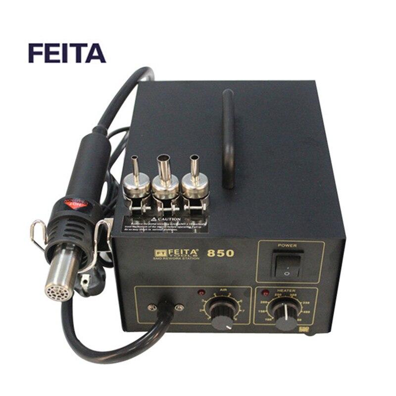 Feita FT850 фена свинца smd паяльная горячего воздуха solderling ремонта станции.
