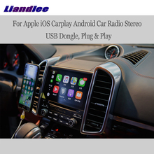 Liandlee-unidad principal de Radio estéreo para coche, cable USB para Apple iOS, Carplay, Android, iPhone y Android, Dongle USB