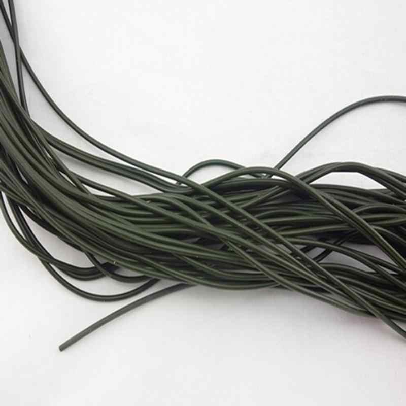 3 Stks/set 1M Siliconen Vissen Lijnen Rigs Tube Mouwen Pretend Outdoor Karpervissen Diameter 1 Mm Visgerei Accessoires