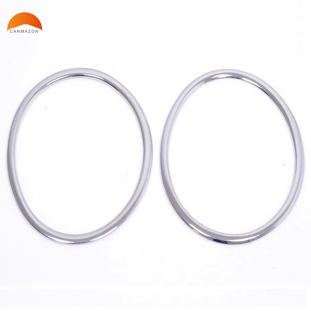 For Nissan Juke 2011 2012 2013 High Quality ABS Chromium Styling Headlight Lamp Cover Front Ring Decoration Trims Sticker 2pcs
