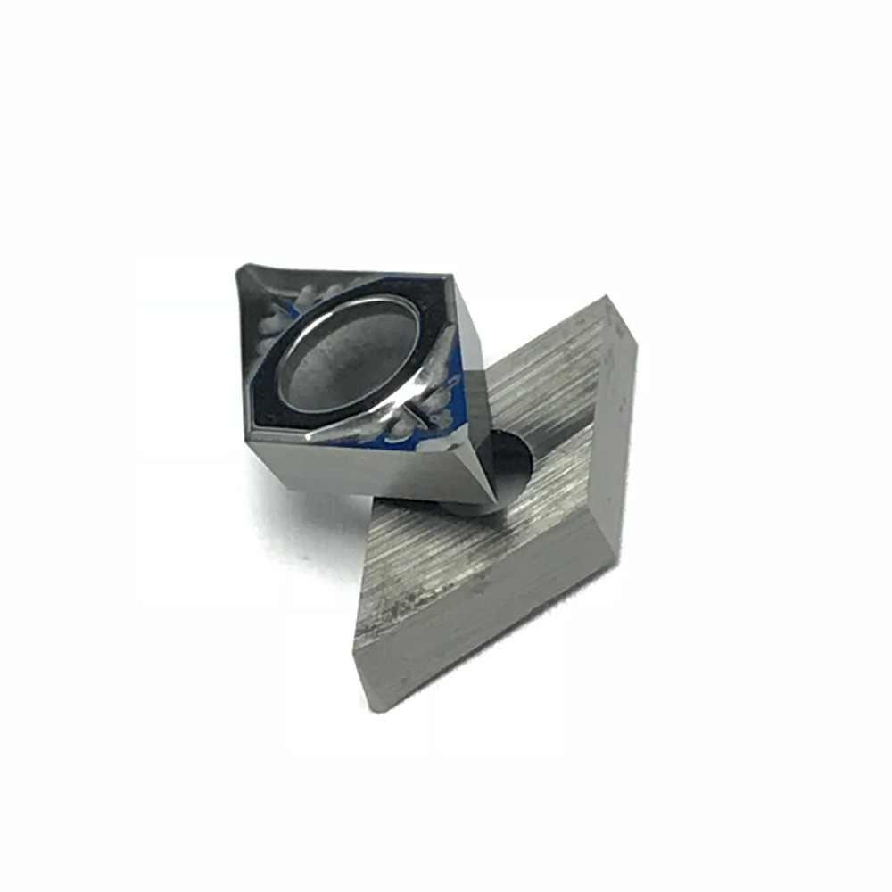 10pcs DCGT070204 יהלומים מוסיף להב פנימי הפיכת כלי מחרטת גבוהה קשיות להב עבור cnc TurningCutter אלומיניום CopperTool