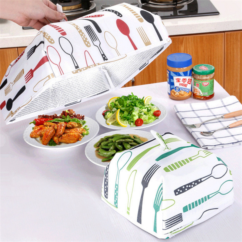 Foldable Insulated Food Cover Keep Food Warm Vegetable