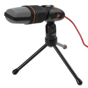 Image 1 - SF 666 Micro Jack 3,5 мм портативный компьютер Профессиональный конденсатор Micro Cable микрофон