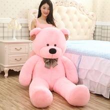 [5COLORS] Giant teddy bear 200cm/2m life size large stuffed soft toys animals plush kid baby dolls women toy valentine gift стоимость