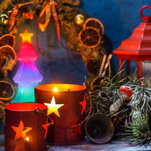 Led Lamp E27 Christmas Tree Light 3D Bulb Flickering Flame Effect Fire E26 85-265V Decoration