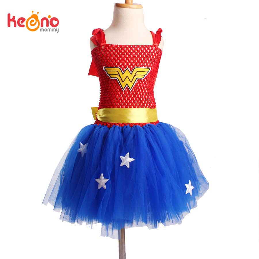 Wonder woman long skirt-9999