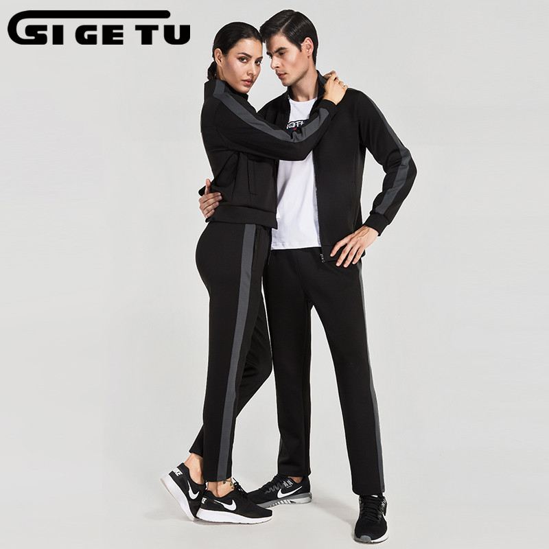 2017 new Men/women Sports Suit 2pcs Quick dry Running Set Sports Basketball Soccer Fitness Training suit Fitness Tracksuits fitness protective glove hand palm barbell basketball sports men and women riding