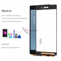 LCD מסך מקורי עבור חלקי חילוף עצרת דיגיטלית מסך מגע תצוגת LCD D6503 D6502 סוני Z2 L50W עבור LCD Xperia Z2 (3)