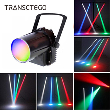 LED Disco Light Spotlight Pinspot 5W RGBW Narrow Beam Rain Projector Par Light Stage Lamp Moving Head Glass Balls Bar Party Lamp цены онлайн