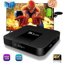 TX3 mini Android 7.1 Smart TV BOX 2GB 16GB Amlogic S905W Quad Core Set-top box H.265 4K WiFi IPTV Box TX3mini 1G 8G set top box