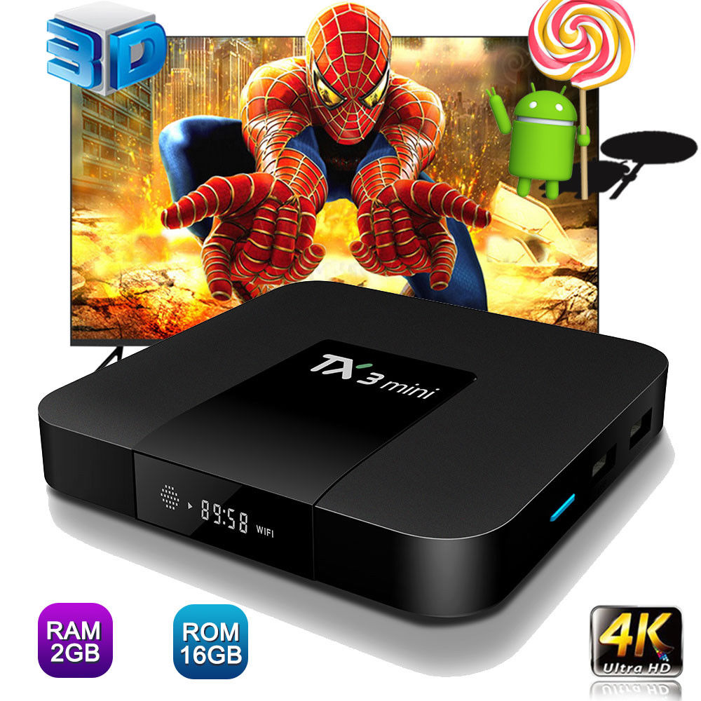 TX3 mini Android 7.1 Smart TV BOX 2GB 16GB Amlogic S905W Qua