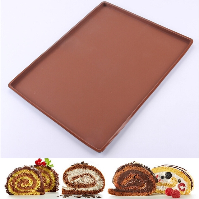 Big size 37*28 cm Non-Stick Silicone Baking Mat