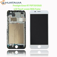 100% test ok LCD Display +Touch Screen Digitizer For Prestigio Grace R7 PSP7501DUO psp7501 Assembly Replacement Accessories