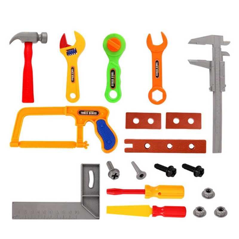 0dc7821f7 ... Children's Toolbox Set Simulation Repair Tool Drill Screwdriver Repair  Kit House Play Toys Tool Set Puzzle ...