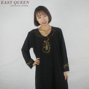 Image 4 - Muslimischen kleid frauen kleidung kaftan dubai abaya islamische kleidung arabische kleid abayas für frauen AE001