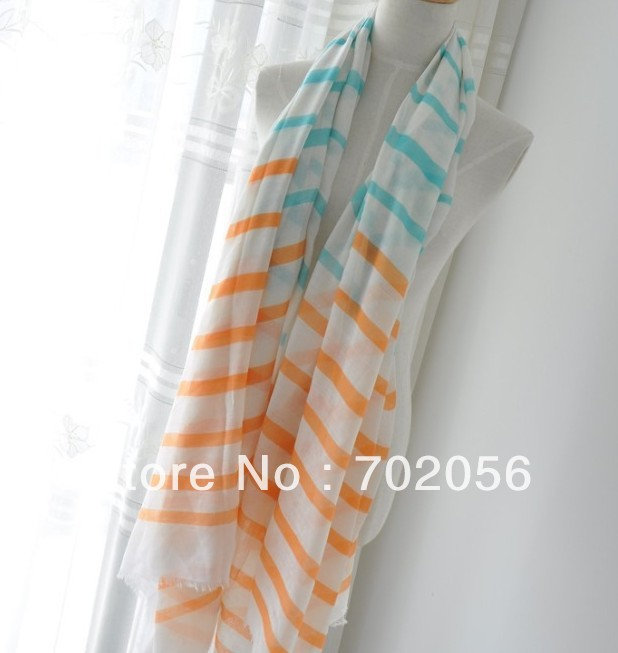 Korea style womens scarves Wrap Scarf Shawl Stole Neckerchief headband Women 185*100cm 11 pcs/lot #3183