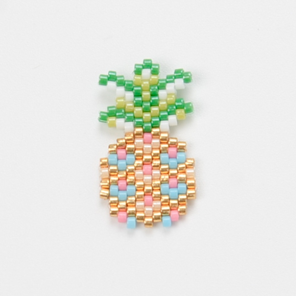 Shinus 50Pcslot Miyuki Pineapple Charms Pendant Necklace Bracelet Miyuki DIY Handmade Jewelry Bracelet Earrings Accessories