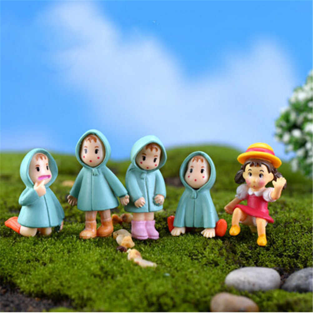 Multi-Style Sweety Lovers Couple/Fu Pig/Dog Figurines Miniatures Fairy Garden Gnome Moss Terrariums Resin Crafts Home Decoration