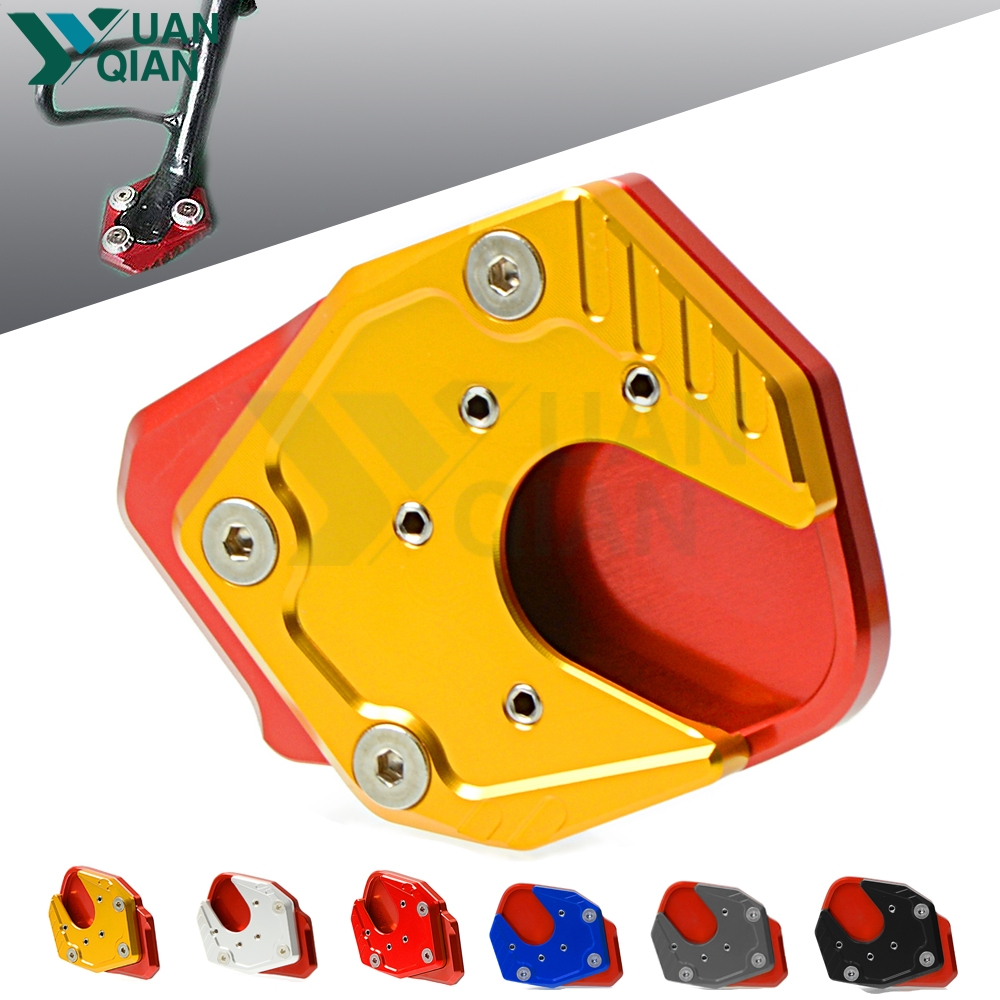 for Honda X-ADV XADV x-adv xadv ampliar 2017 2018 motorcycle Kickstand Side Stand Plate Pad Enlarge Extension moto accessories