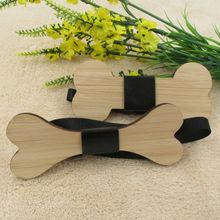 Wooden Bow Tie Borboleta