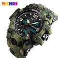 Спортивные часы SKMEI  мужские  модные  уличные  светодиодные  цифровые  водонепроницаемые  армейские
