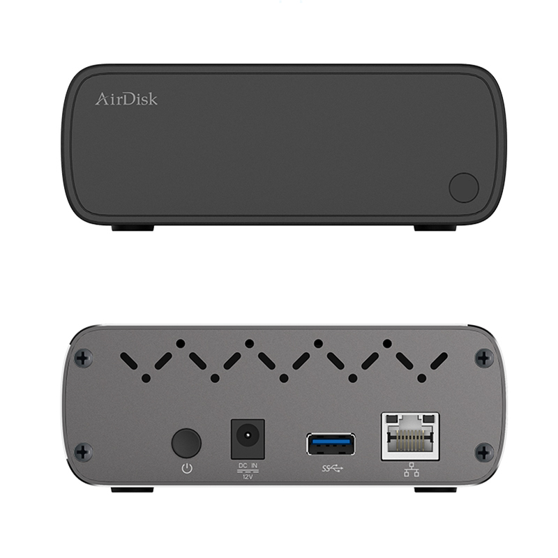 """Image 5 - Airdisk Q3C Mobile network hard disk USB3.0 Family Smart NAS Network Cloud Storage 3.5"""" Remotely Mobile Hard Disk Box(NOT HDD)-in Networking Storage from Computer & Office"""