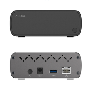 """Image 5 - Airdisk Q3C Mobile network hard disk USB3.0 Family Smart NAS Network Cloud Storage 3.5"""" Remotely Mobile Hard Disk Box(NOT HDD)"""