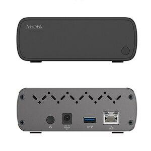 """Image 5 - Airdisk Q3C disque dur réseau Mobile USB3.0 famille NAS intelligent stockage en nuage réseau 3.5 """"à distance boîte de disque dur Mobile (pas HDD)"""
